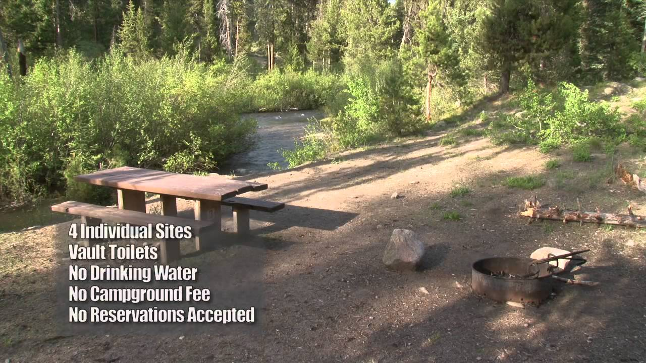 Willow creek campground in idaho youtube for Willow creek fishing