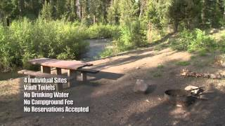 Willow Creek Campground in Idaho