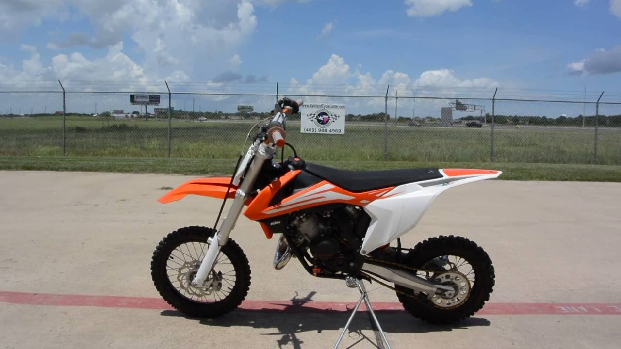 for sale $3,799: pre owned 2016 ktm 65 sx overview and review