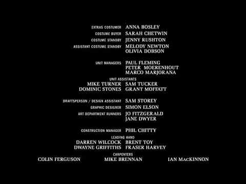 Rosie and Daisy gets grounded the movie end credits