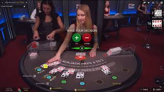 Лайв БлэкДжек на ПокерСтарс!Live BlackJack on PokerStars<