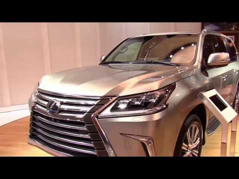 2017 Lexus LX 570 Limited Luxury Features | Exterior and Interior | First Look HD