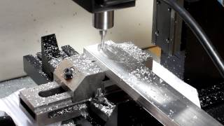 sherline cnc mill making rocker tool post center for the lathe