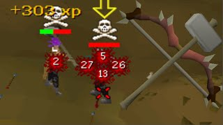 Dark Bow to Gmaul Pure PKing OSRS ~ Tier 10 Challenge #2