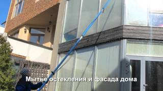 видео уборка коттеджей в Москве и Подмосковье