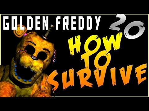 Golden Freddy 20: How To Survive All of Golden Freddy's Attacks!-Five Nights At Freddy's 2 Tutorial