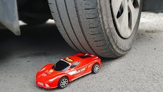EXPERIMENT: CAR VS TOY CAR