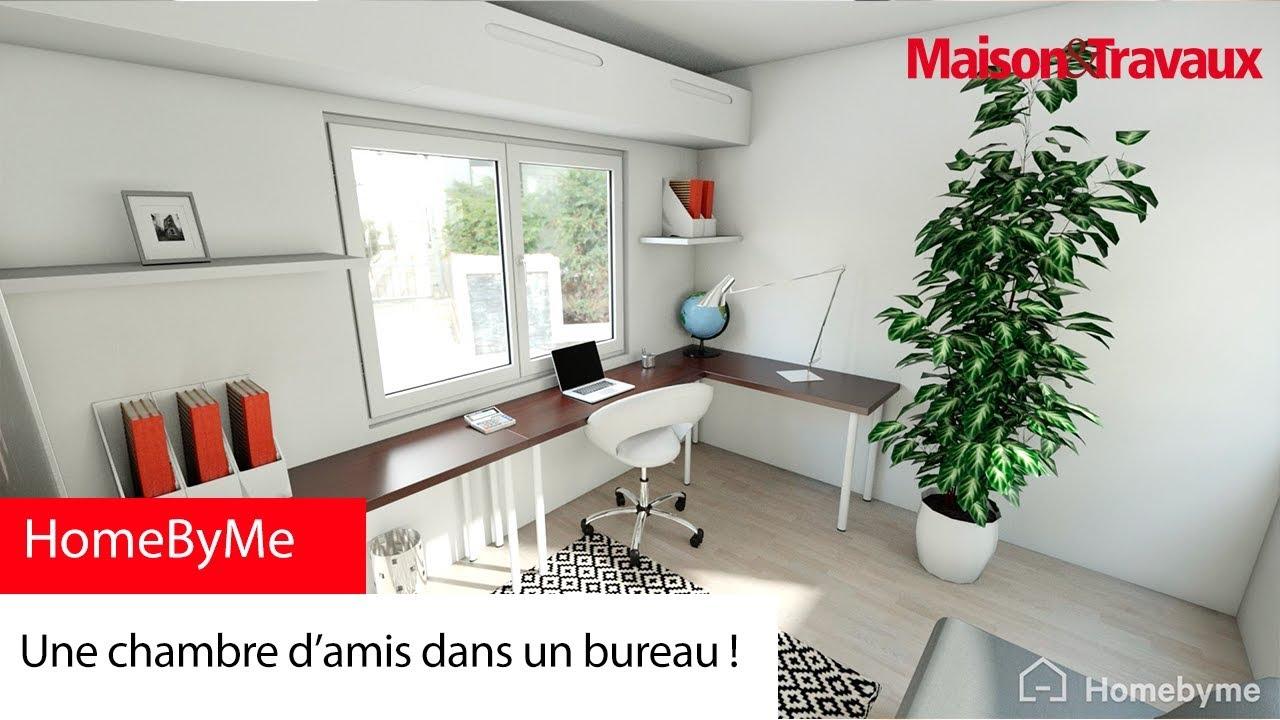 Une chambre d'amis dans un bureau !