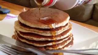 RECIPE FOR  HEALTHY ALMOND PANCAKE