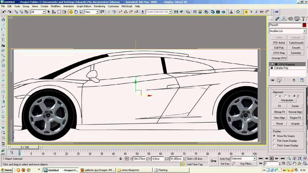 Tutorial de blueprints en 3ds max youtube malvernweather Images