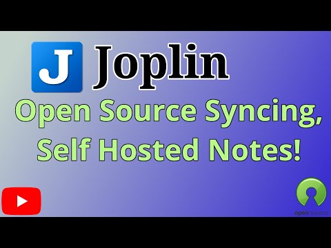 Joplin, a free, open source, self hosted syncing note taking alternative to Evernote and OneNote..