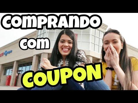 COMPRANDO COM CUPONS: GASTEI $0.41 CENTS !!!! #Eps.7