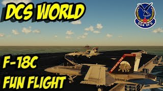 DCS WORLD - 504 FLIGHT NIGHT