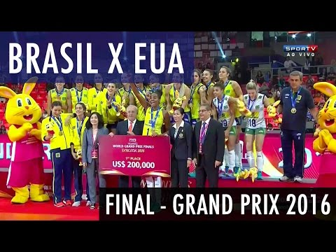 Brasil x Estados Unidos - Final World Grand Prix 2016