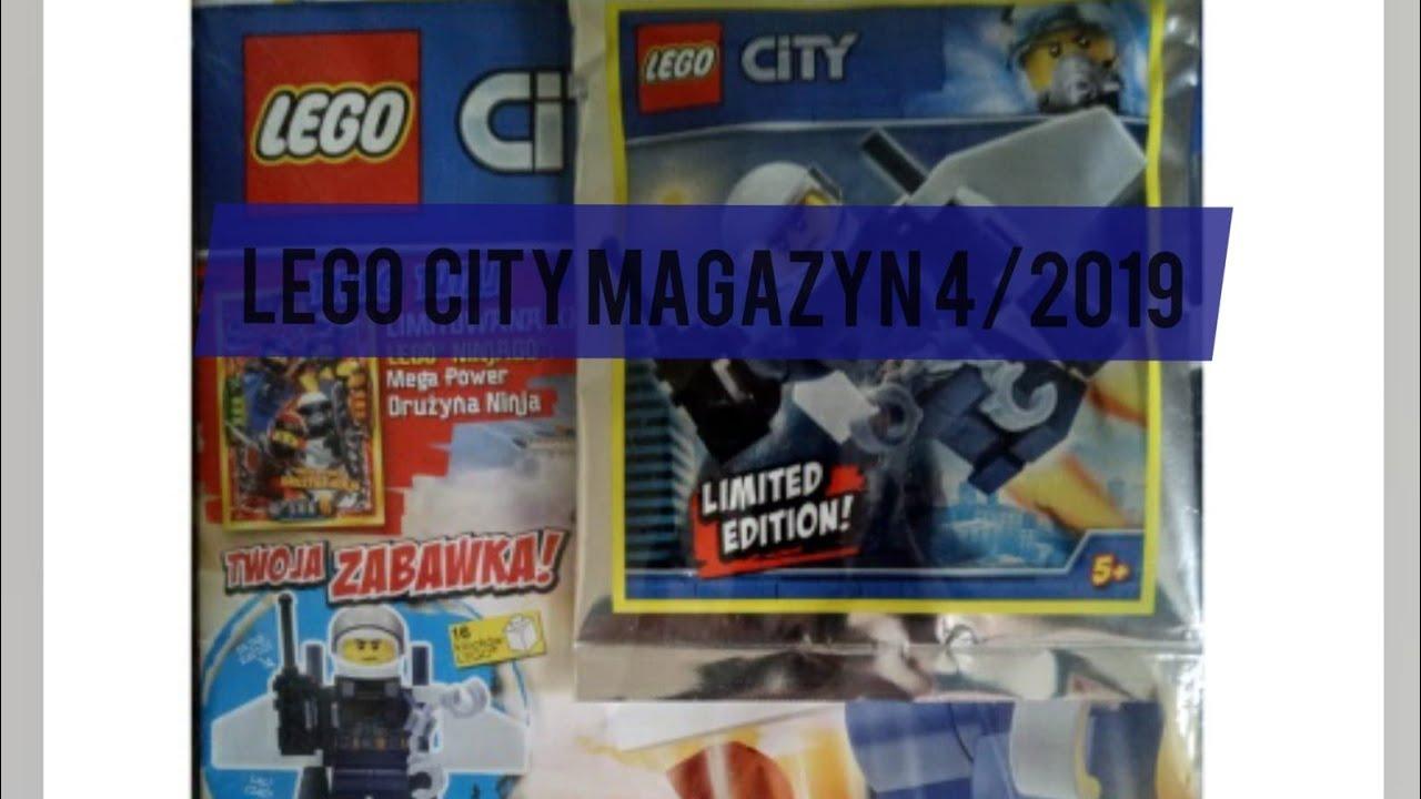 Magazyn Lego City 42019 Recenzja Youtube