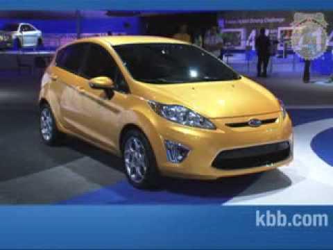 2011 Ford Fiesta Kelley Blue Book La Auto Show Youtube