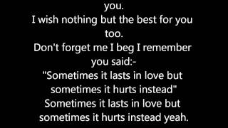 Adele - Someone Like You (Lyrics On Screen)