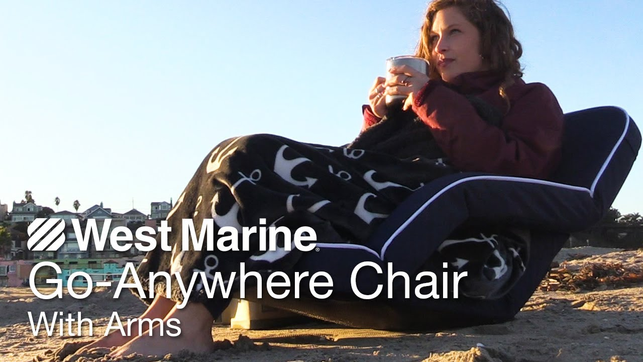 GoAnywhere Chair with Arms  West Marine Quick Look  YouTube