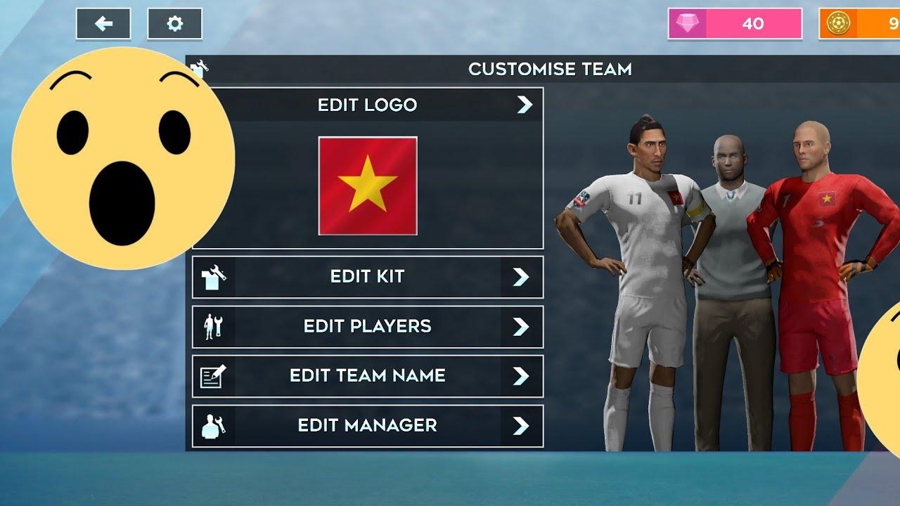 [DLS 2020]Mod Cờ và Quần áo đội tuyển VIỆT NAM  DLS 2020-Mod Flag and Clothes of Vietnam team!