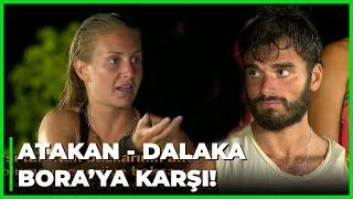 Dalaka, Atakan'ı Bora'ya Karşı Korudu! - Survivor 54. Bölüm