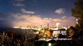 Time lapse - (Tel Aviv Seashore 2)