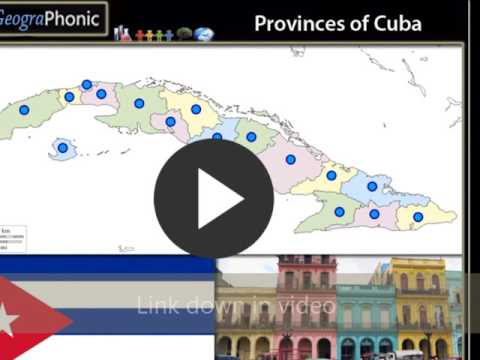 Provinces Of Cuba Geography Exercise