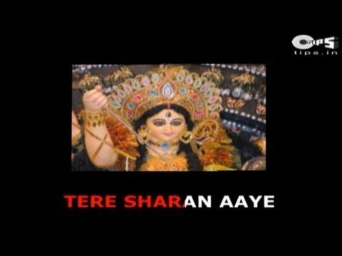 Tere Sharan Aaye Dekho Hey Ambe Mata with Lyrics - Sonu Nigam - Sherawali Maa Bhajan