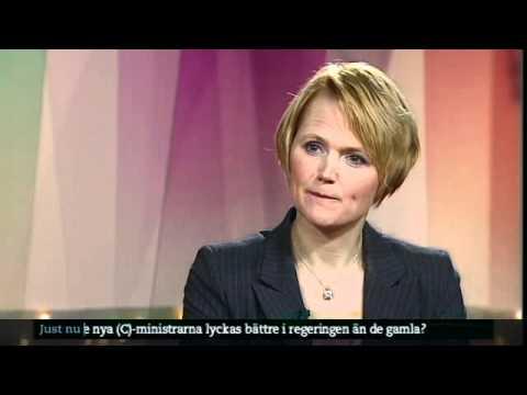 Annie Lööf (C) och Anna Karin Hatt (C) om regeringsombildningen