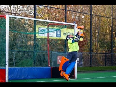 Field Hockey Goalkeeper Training Drills 2 Youtube