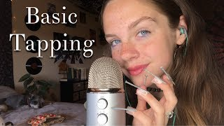 ASMR Tapping with LONG NAILS *Literally