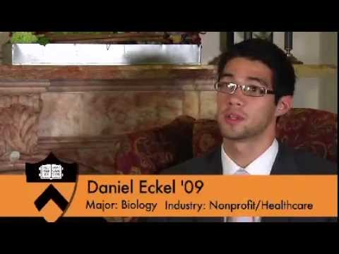 """How Did Your Time at Princeton Influence Your Career?"" Alumnus Daniel Eckel '09 Answers"