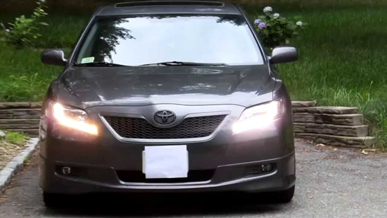 2007 toyota camry aftermarket headlights