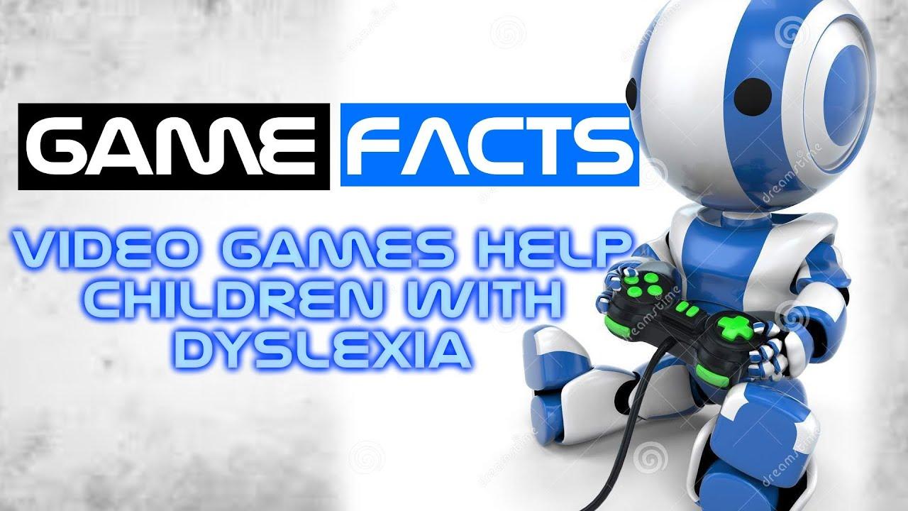 Worksheet Dyslexic Games game facts video games help dyslexic children read better youtube better