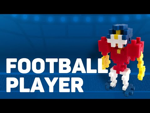 Plus Plus How to Make a Football Player