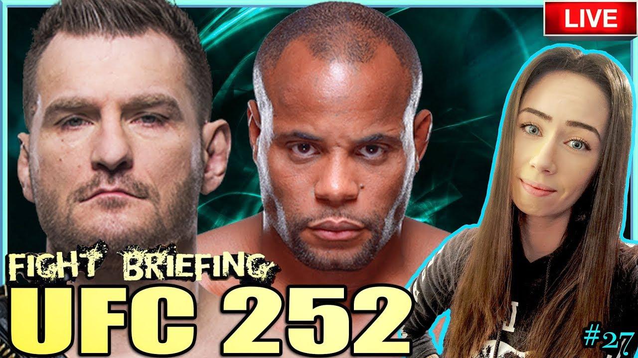 🔴  UFC 252: MIOCIC VS CORMIER + O'MALLEY VS VERA FIGHT BRIEFING!