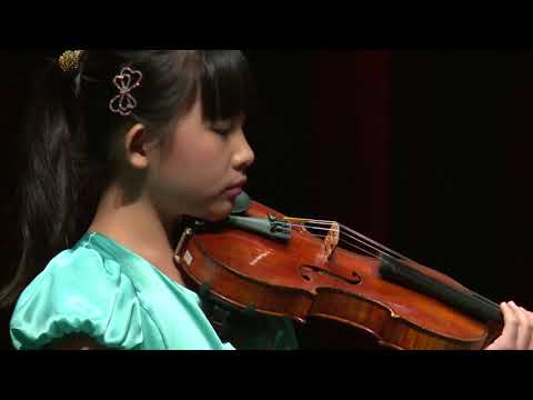 CHLOE CHUA  Menuhin Competition 2018 Junior first rounds - day 1