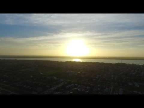 OVERHEAD VIEW OF NEW AMSTERDAM GUYANA