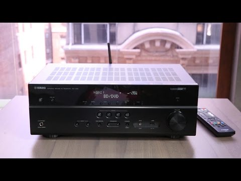 Yamaha's RX-V481 receiver is an engaging performer