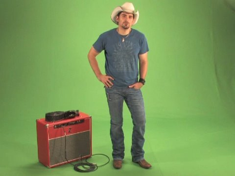 "Brad Paisley ""Start A Band"" Green Screen Challenge"