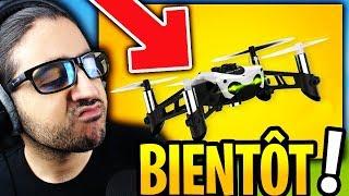 """🔴NOUVELLE ARME MYTHIQUE """"ZEBULON DRONE"""" BIENTÔT SUR FORTNITE !!"""