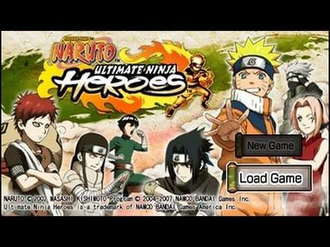 Naruto: Ultimate Ninja Heroes. Ностальгия!!!) #1