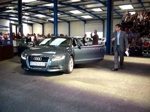 audi a5 quattro encheres youtube. Black Bedroom Furniture Sets. Home Design Ideas