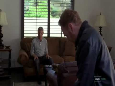 Breaking Bad - Ted slips on the rug and hits his head