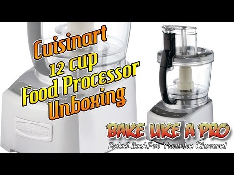 12 CUP Cuisinart Food Processor Unboxing And Review