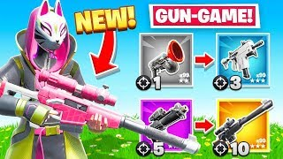 *NEW* Automatic SNIPER Rifle Gun Game in Fortnite!