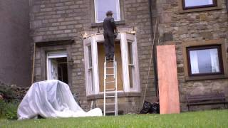 Bay Window Fitting