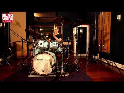 Slagwerkkrant Video Review:  Sonor SQ-1 drums