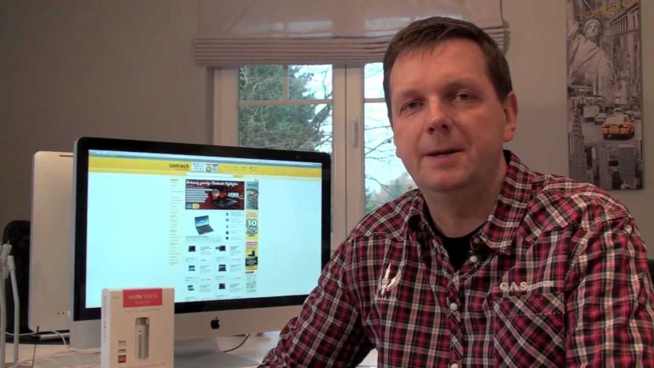 fernsehen am mac und pc mit eyetv hybrid von elgato youtube