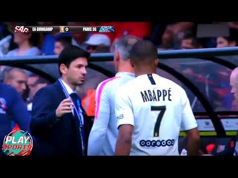 Guingamp vs PSG | Mbappé le phénomène est de retour !!