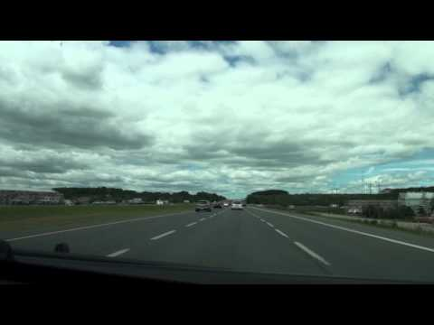 Driving from Toronto to Casino Rama, Orillia on Highways 400 and 11